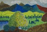 Pointillismus: Landschaft