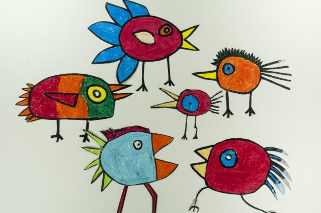 """Schlüsselwort-Album: Vogel » """"Birds"""" nach Hans Langner ...  Schlüsselwort-..."""
