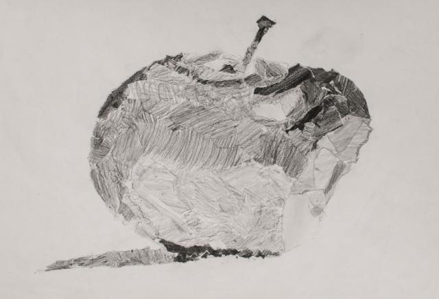 201516 schulkunstthema zeichnen » 2015 göppingen » apfel