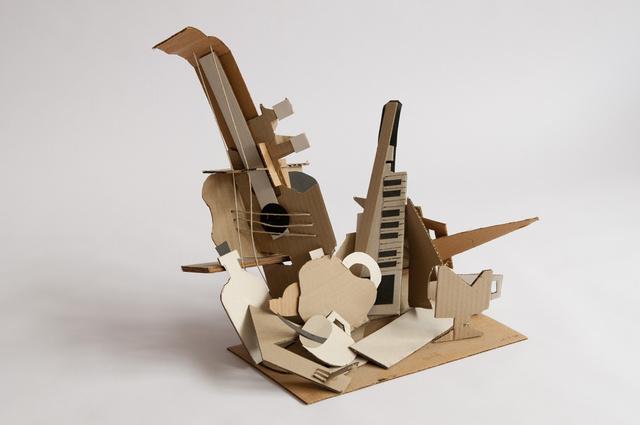 plastik vollplastik plastiken aus karton und papier. Black Bedroom Furniture Sets. Home Design Ideas